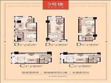 世茂cbd中心凤凰城单身公寓 1室1厅1卫 精装修