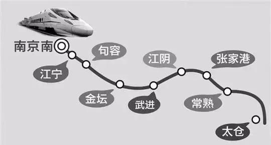 苏南沿江高铁9月底开工常熟到上海半小时
