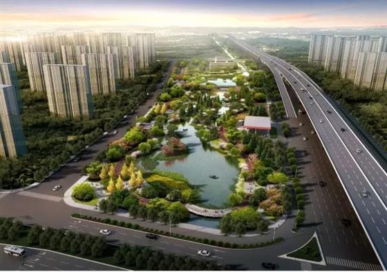 常熟新地标!琴川城市公园已开建