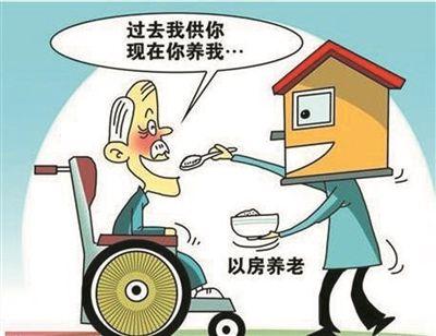 """用房屋抵押的方式获取定额养老金就是""""以房养老""""吗?"""