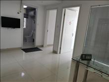 爱乐公寓  精装朝南两房  家电齐全随时看房  钥匙在手