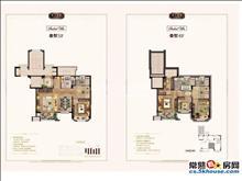 褐石源筑花园洋房叠加别墅147平米精装修交付新房代售