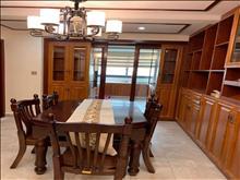 锦虹家园125平方豪华装修空调+地暖3房2卫采光好