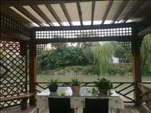 沿湖润欣花园独栋别墅265平 1580万 6室2厅4卫 精装修位置好
