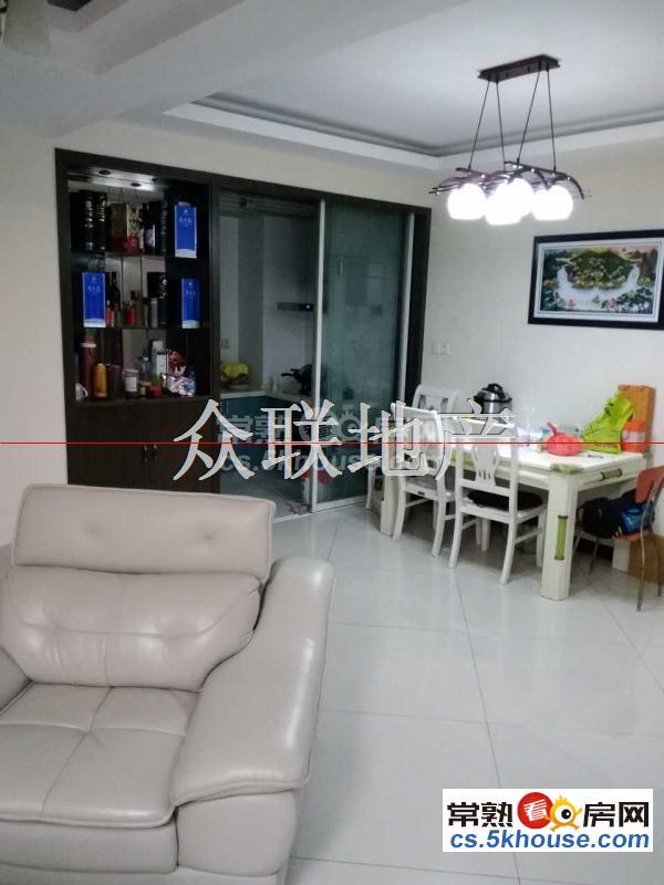 尚湖中央花园 精装三室 价格低廉 景观楼层 看房方便