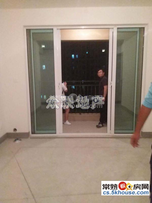 中南锦城 毛坯三房 中间楼层 采光无忧 送车位 东边套视野好