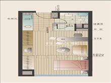 (爱乐国际公寓) 1500元/月 1室1厅1卫 精装修 先到先得