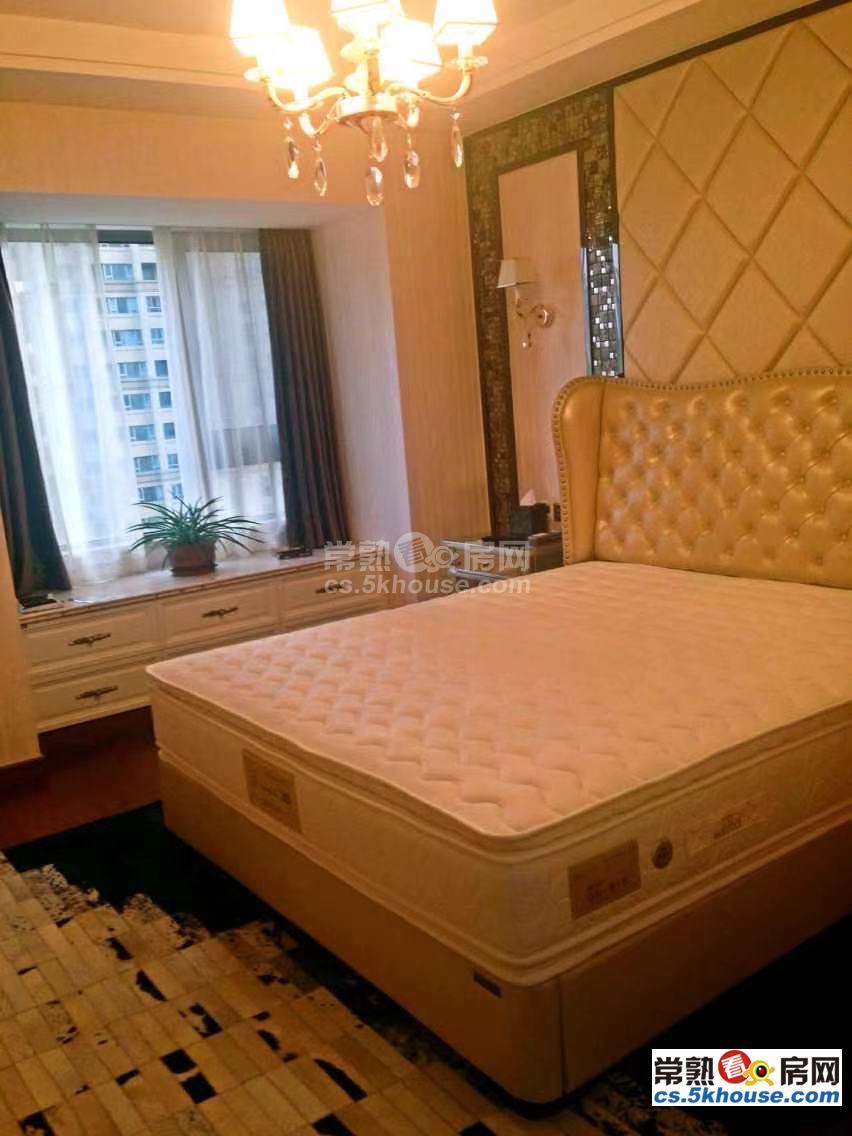世茂五期 5000元/月 3室2厅2卫 豪华装修带地暖