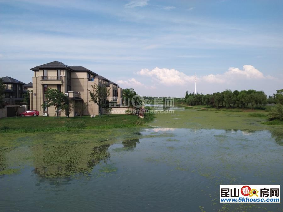 岛尚双拼西边套,毛坯南花园南临水(可搭清水平台)挂牌650万