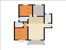 农房英伦尊邸 1400元月 2室2厅1卫,2室2厅1卫 精装修 带衣服直接入住