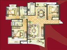 玉兰公馆 165万 3室2厅2卫 精装修 成熟社区,交通便利,有钥匙