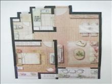 凯德都会新峰园 161万 1室2厅1卫 豪华装修 好楼层好位置低价位