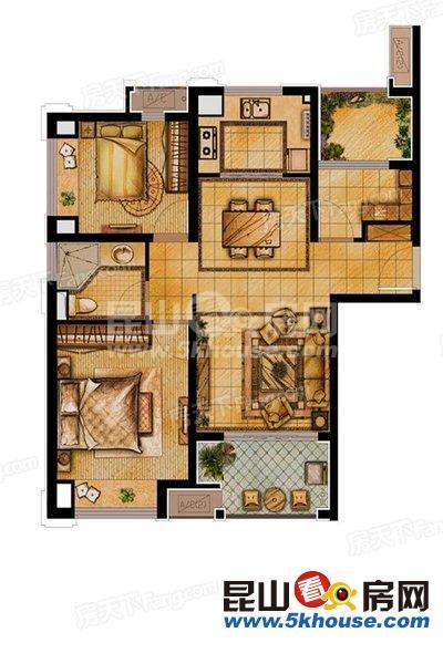 绿地21新城 152万 3室2厅1卫 毛坯 ,直接入住抄底价