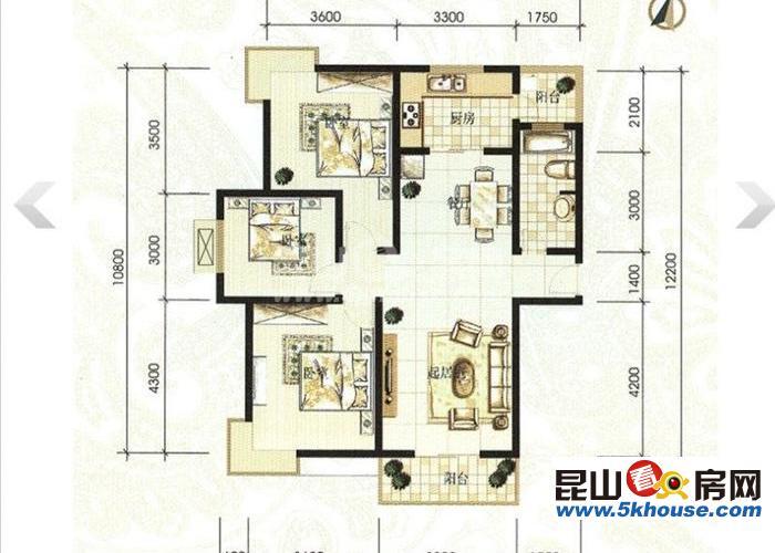丽水湾 2房 售价67万随时可以看房
