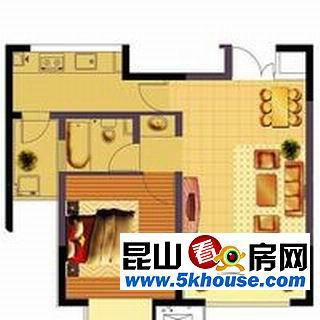 【多图】高巢精装 挑高复式单身公寓出租 1100元月_镇