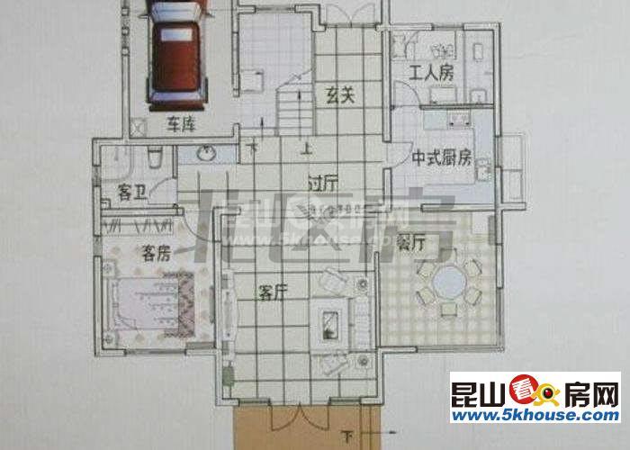 丰泽园 800万 4室2厅4卫 简单装修 位置好、格局超棒、现在空置、随时入住