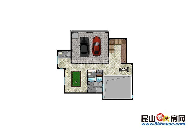 云湖御墅 法式独栋别墅577平 配套全 近地铁 附送地下室