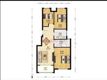 万科魅力花园(西区) 170万 3室2厅1卫 精装修 11层洋房 满二 省税