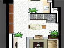 領峰國際 1500元月 1室1廳1衛,精裝修 ,家具家電齊全黃金樓層