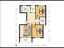 昆山花園 178萬 2室2廳1衛 精裝修 ,舒適,視野開闊