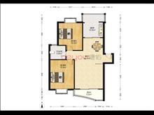 業主狂甩超低價,昆山花園 210萬 2室2廳1衛 豪華裝修