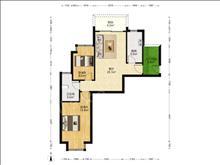 國際城市花園 1800元月 2室2廳1衛,2室2廳1衛 精裝修 ,干凈整潔,隨時入住