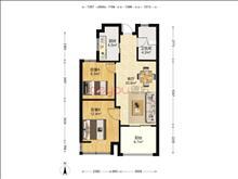 居家花園小區, 常發豪郡 103萬 2室2廳1衛 毛坯 ,業主誠賣此房