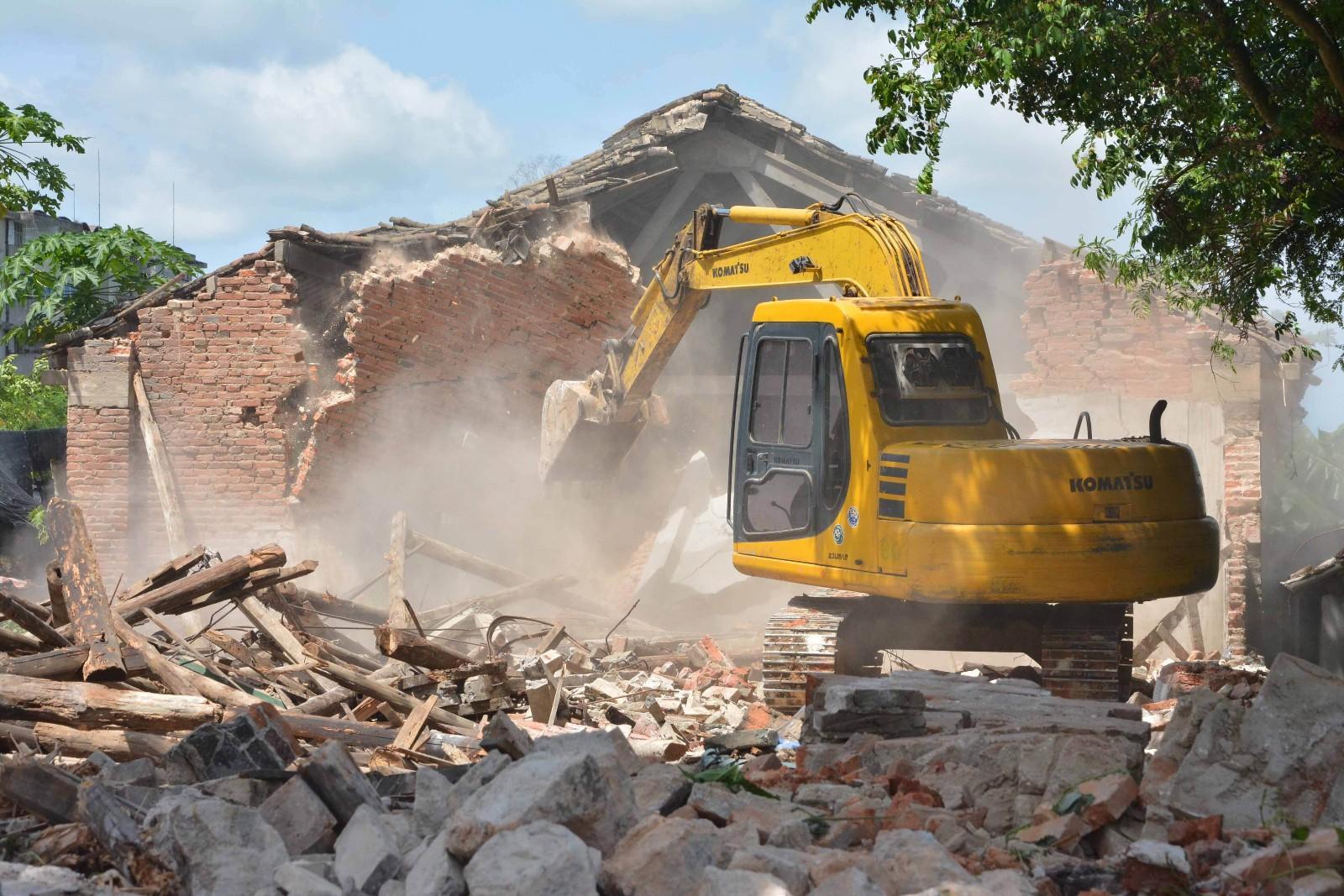 我市前5個月拆除違建超百萬平方米