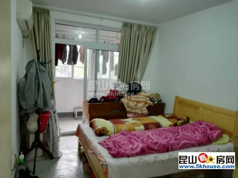长江路新纬路 睦和花园简单装修2居室 有基础家具简单 急租1700包物业