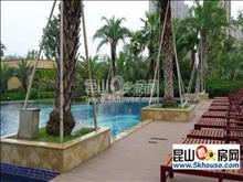业主抛售,稀缺便宜,棕榈湾70万87平大两房2室2厅1卫精装修