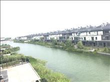 水月周庄一线临湖别墅,已土建部分,南花园,自带码头,院内垂钓