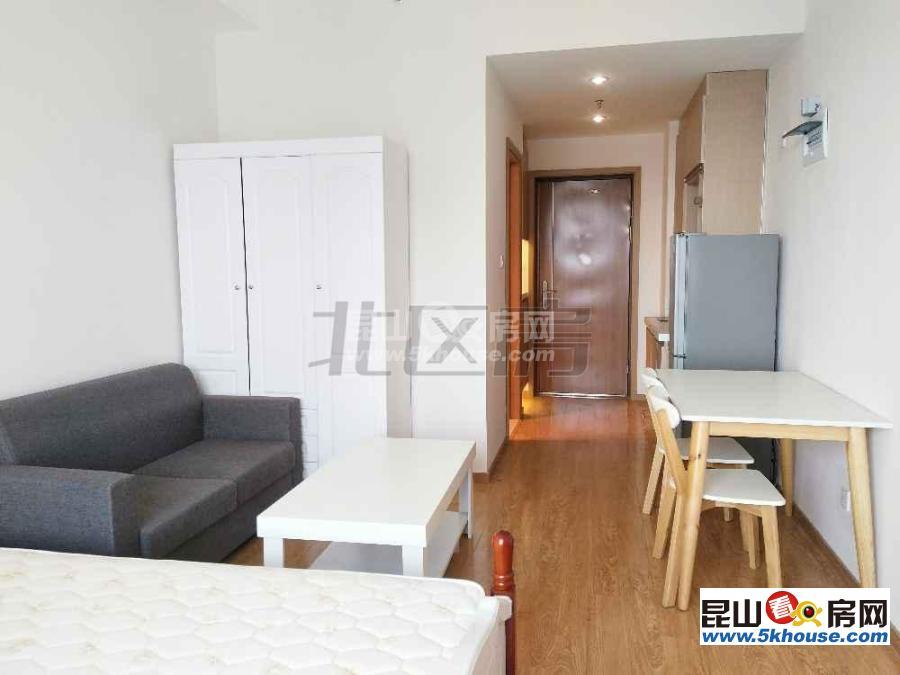 昆山高铁站对面,象屿珑庭 ,精装单身公寓       出租