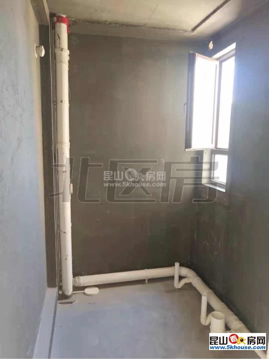 电梯中间楼层 325万 3室2厅2卫 毛坯 诚售