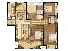 绿地21新城 208万 4室2厅2卫 毛坯 ,格局好价钱合理