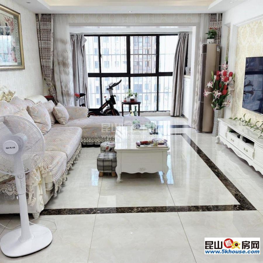 合生国际全新婚房装修未用中间楼层直接拎包入住急卖