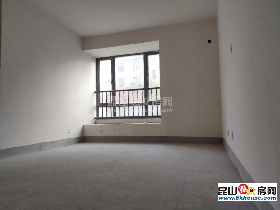新出房源,华府庄园124平,正四房,210万,清水毛坯,洋房