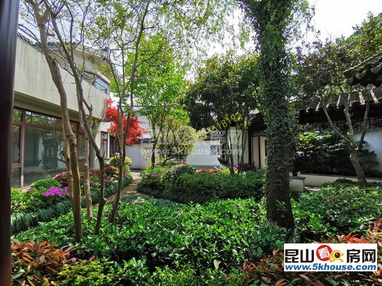 紧邻阳澄湖而建的一席中国院子 占地1.1亩独门独院的独挡别墅
