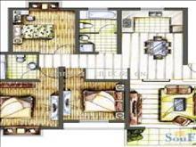 澳宇花园 170万 3室2厅2卫 精装修 ,超低价格快出手