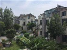 周庄古镇,一线湖景大独栋,花园300平、视野开阔、私密性高