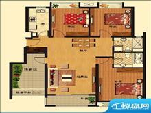 昆山华府庄园(西源1号)3室2厅出租