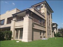 锦溪岛尚溪园、下叠加别墅东边套,东南花园150平,有钥匙房