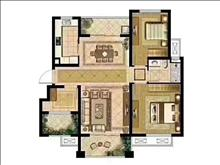 棕榈湾最好的户型95平三房南北通双阳台,中间楼层,可看房