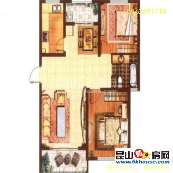 森隆满园品质小区大两房精装修随时看房欢迎入住