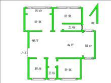 启发广场 162万 3室2厅2卫 简单装修 ,首选哦