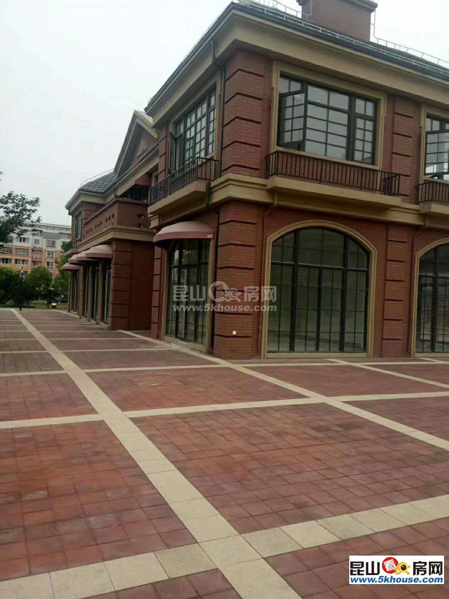 花桥绿地21城繁华里小商铺,一拖二,一楼4.5二楼5米