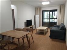 滨江裕花园 2200元月大2室2厅1卫精装修全套高档家私电,设施完善