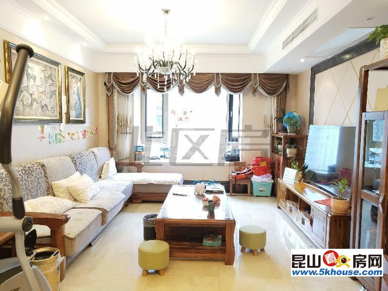超低单价,不临街,随时腾房弘辉首玺 395万 3室2厅2卫 豪华装修
