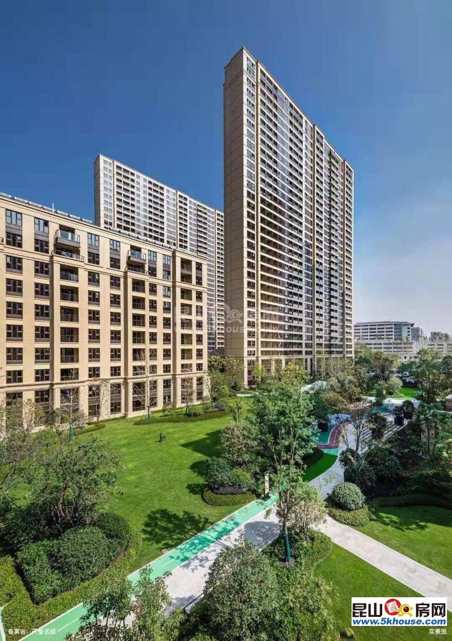 一流景观,低密度花园,浦西玫瑰园 260万 3室2厅2卫 毛坯