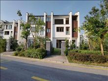 天润尚院 联排东边套 280万 4室3厅4卫 毛坯3面花园120平 ,绝对好位置