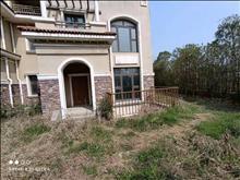 北大資源聯排東邊套 花園面積200平 滿2年 位置好 看房方便